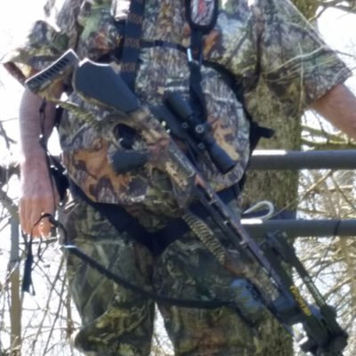 Sweet Sling II can Connects to your scope, thumb hole or under the rail of your cross bow.